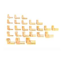 6mm 8mm 10mm 12mm Hose Barb x 1 8 #8222 1 4 #8221 3 8 #8222 1 2 #8221 BSP z gwintem zewnętrznym łokcia złącza do rur mosiężnych kolczasty złącze tanie tanio Elbow Mężczyzna Hexagon Miedzi Zmniejszenie Barb PL Type Odlewania