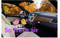 car air purifier+car GPS Tracker + together Formaldehyde Removing freash air GPS accessory for car and with two USB out 12V