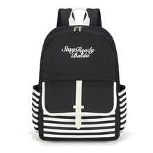 Baida fashion school backpack Japan and Korean  Preppy Style Girls Fresh Style for mochila High quality backpack with hot sale