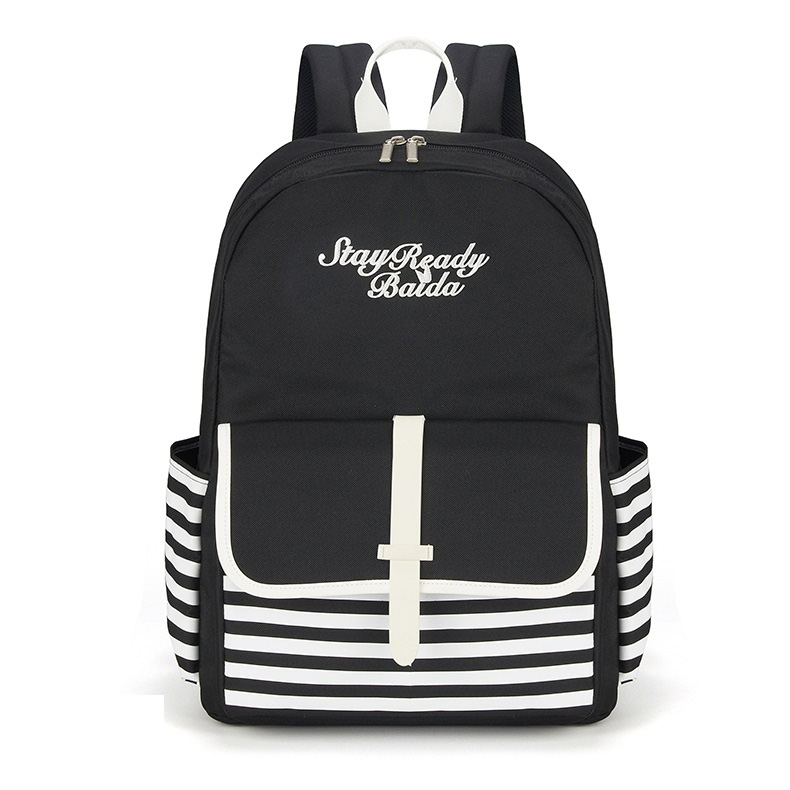 Fashion School Backpacks Teenage Girls <font><b>Canvas</b></font> Women Back Pack Female Backpack Travel <font><b>Bags</b></font> <font><b>mochilas</b></font> <font><b>escolares</b></font> para adolescentes image