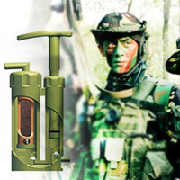 Portable Ceramic Soldier Water Filter Purifier Cleaner For Outdoor Survival Hiking Camping Emergency Purify Pump Outdoor