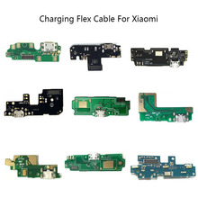 Micro USB Plug Charge Port Dock Connector Flex Cable Microphone Board For Xiaomi Redmi 4 4X 4A Note5A 5Plus 3S 5 5A 4 Pro
