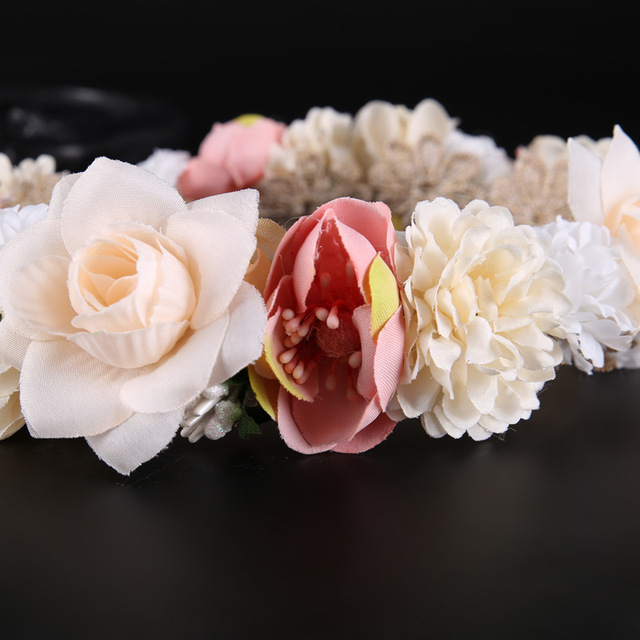 Boho Chic Flower Headband