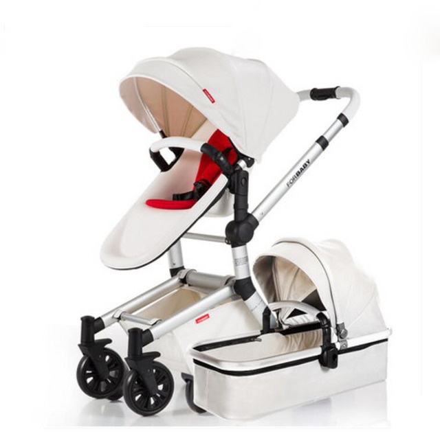 Fu infantil carrinhos carrinho de bebê suspensão carrinho de alta paisagem pode sentar ou deitar dobrado Frete grátis