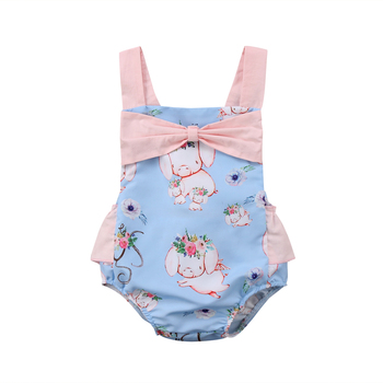 Pudcoco Hot Sale Newborn Infant Baby Girls Floral Rompers Flower Tassel Baby Girls Clothing Summer Baby Costumes 1