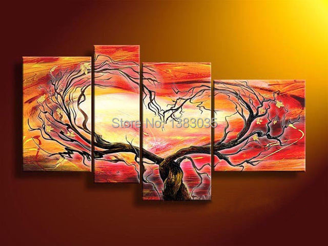 Aliexpress.com : Buy Hand Painted Modern Abstract Oil Paintings On ...