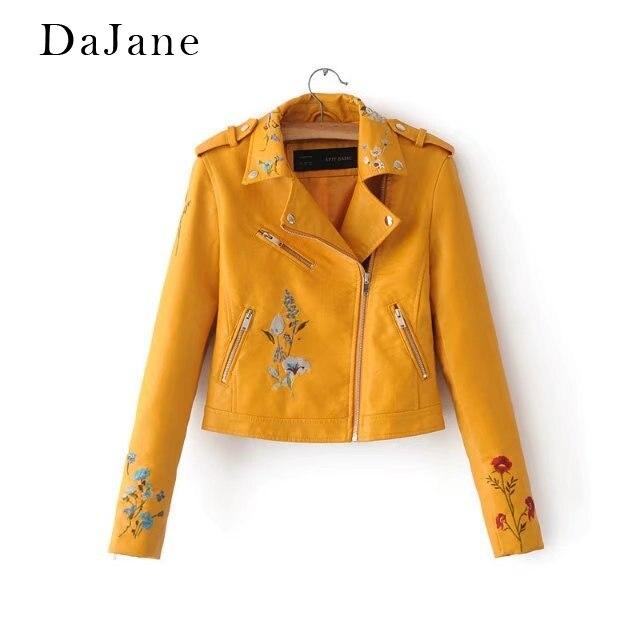 Women's Autumn Winter New long-sleeved PU   Leather   Jacket long-sleeved Shirt Short Zipper Shirt   Leather   Jacket Women