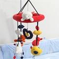 Campana de la cama musical amar la lectura baby bear toys 0-12 meses rotación de Movilidad en La Cuna Niños Sonajero Colgar Muñecos de Peluche WJ333