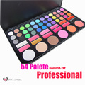 NUEVO 54 Color Profesional Paleta de Sombra de ojos Brillo de Maquillaje Paleta Sombra de Ojos Set 54-2XP Kit Al Por Mayor