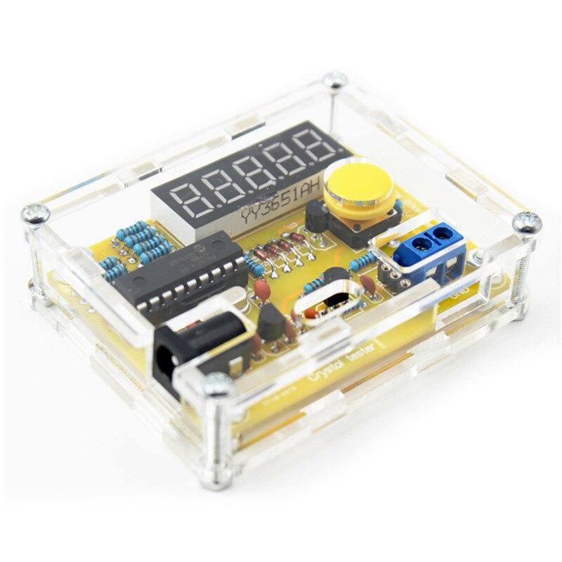 TS-905 1 HZ-50 MHZ cristal oscillateur testeur fréquence compteur bricolage Kits avec étui SLC88