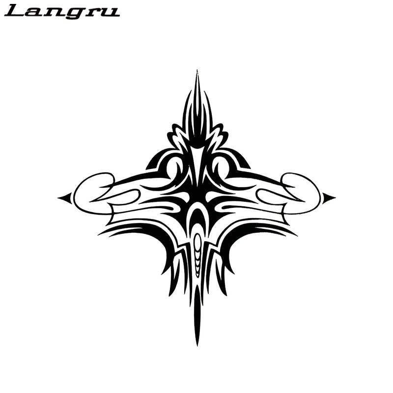 Langru Tribal Pinstripe Accent Car Truck Wall Hood Graphic Vinyl Decal Sticker Jdm