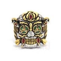 Неудержимые 2 Сильвестр Сталлоне Gardenzio повезло кольцо 925 пробы кольцо неудержимые 3 для Для мужчин мальчик Косплэй украшения подарок