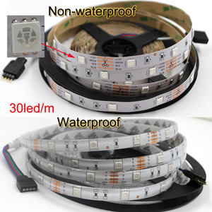 Image 2 - Wifi wireless Controller 5050 RGB Wifi LED Strip light lamp 15M Waterproof IP neon Tape diode ribbon 12V adapter set kitchen