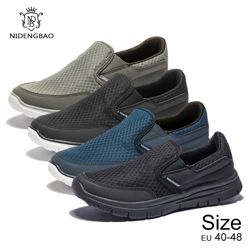 Summer Brand Shoes Men Lightweight Breathable Sneakers for Men High Quality Male Footwear Large Size 49 50 Men 39 s Casual Shoes in Men 39 s Casual Shoes from Shoes