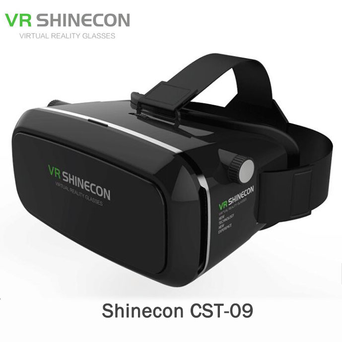 Shinecon CST-09 Virtual Reality 3D Glasses VR Universal Headset Magic Private Images For 3.5 6 Smart phones VR for smartphones