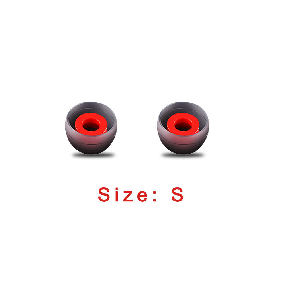 5 ペア小型イヤホンカバー Ear Bud Tips ユニバーサルヘッドフォンイヤーキャップ Xiaomi イヤホン Kz 用ヘッドセットカップ