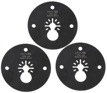 3 pcs HSS circular oscillating multi tool saw blades for power tool as Fein electric tool accessories,Dremel,metal cutting