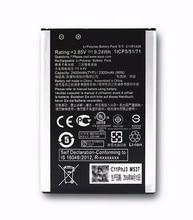 Azk nueva 2400 mah batería para asus zenfone 2 laser ze500kl ze500kg c11p1428 teléfono celular de alta qaulity + número de seguimiento