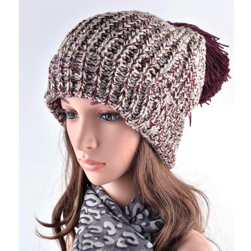 Moda gorros mujeres beanie sombreros de invierno para las mujeres