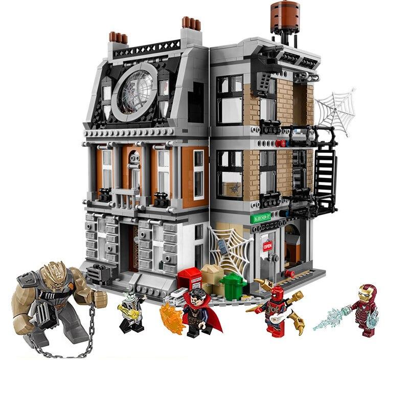 Compatible avec les Super-héros Avengers Infinity War Sanctum Sanctorum, des blocs de construction pour enfants