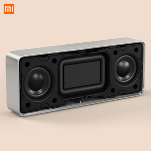Image 2 - Original xiaomi bluetooth alto falante hd estéreo portátil sem fio caixa quadrada 2 v4.2 1200mah aux linha em mãos livres com microfone