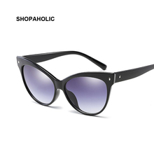Sexy Cat Eye Sunglasses New Summer Brand Designer Gradient Sunglasses Women Party Show Wild Style Glasses Oculos Feminino