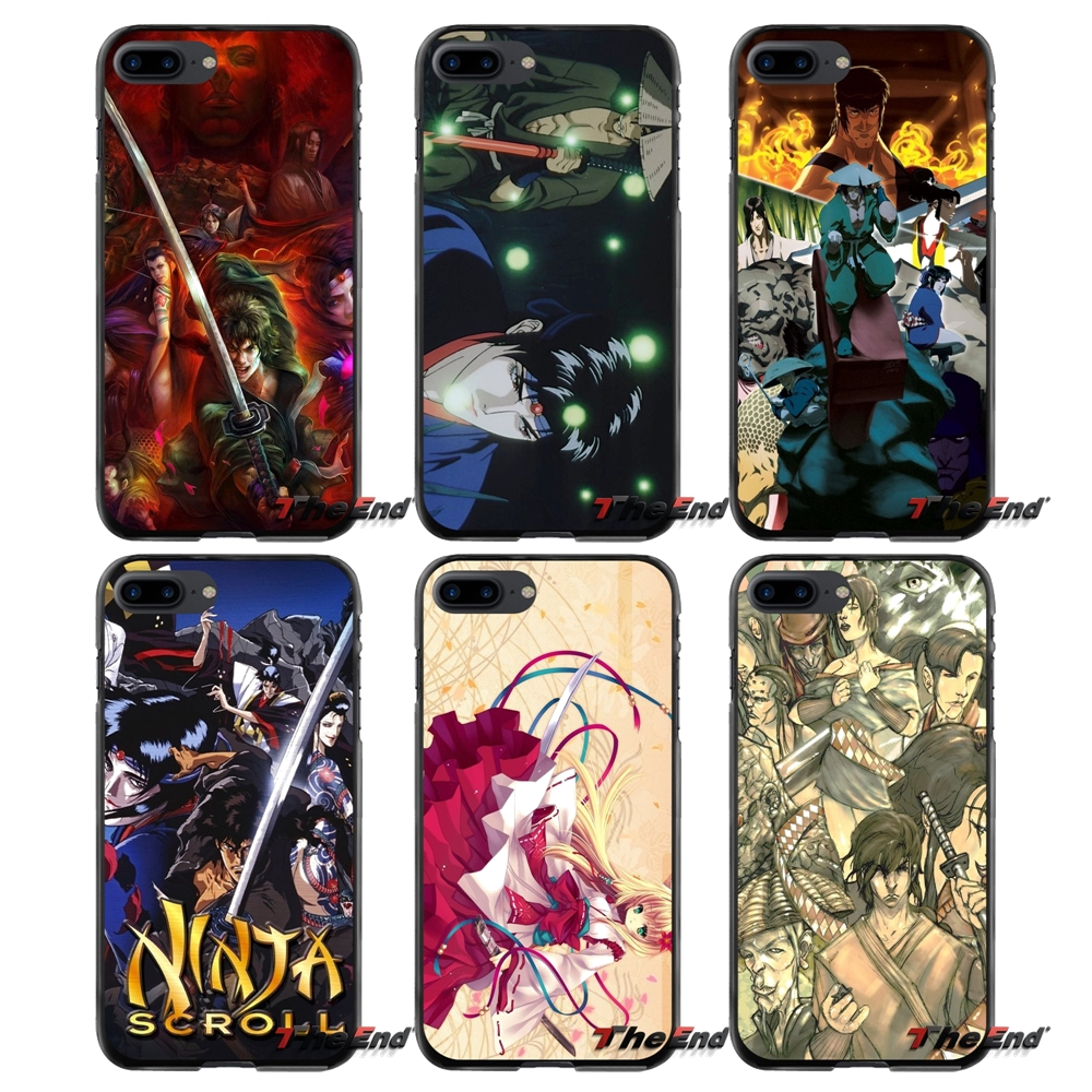 Accessories Phone Cases Covers For Apple iPhone 4 4S 5 5S 5C SE 6 6S 7 8 Plus X iPod Touch 4 5 6 Ninja Scroll
