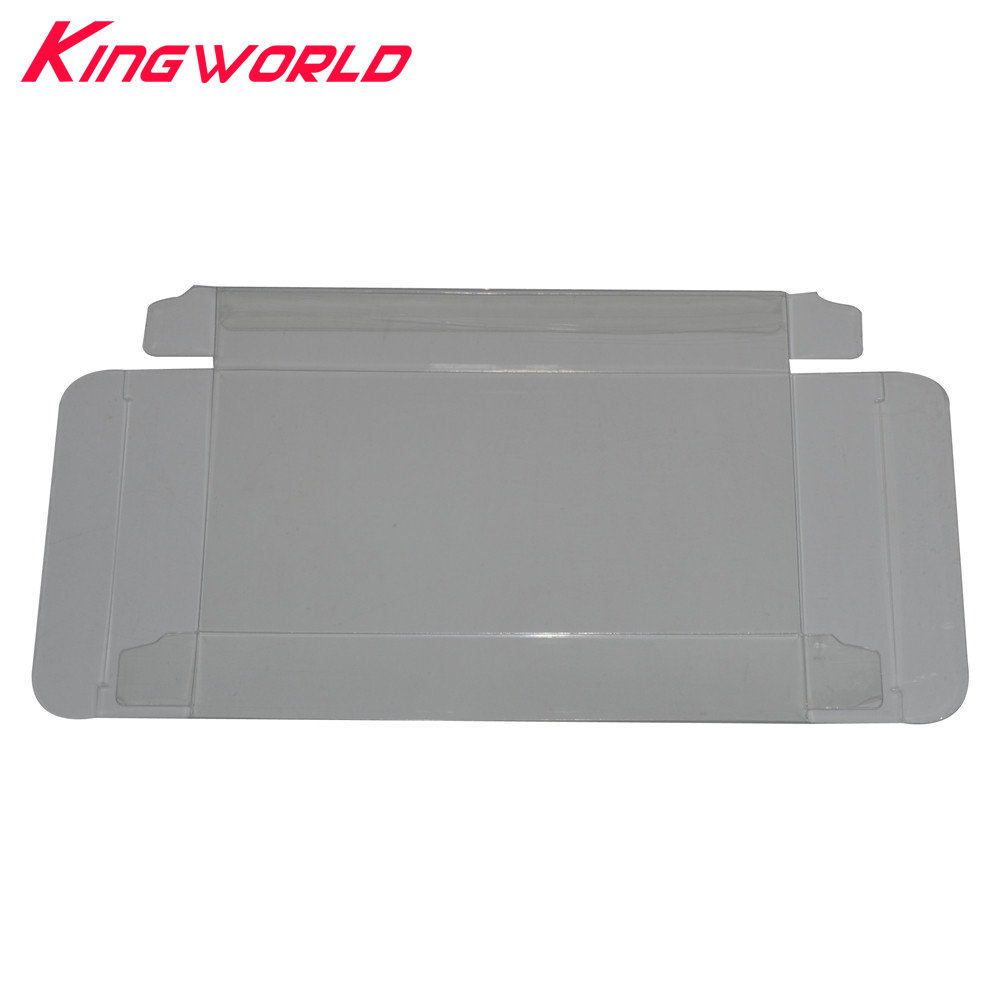200pcs Cartridge Protector Case Cart Protector Card Sleeve Clear Box for Nintendo for SNES game cartridge