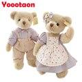 35 cm Clásico Pastoral Kawaii oso de peluche de Felpa juguetes de los niños muñecos de peluche para los niños regalos de alta calidad