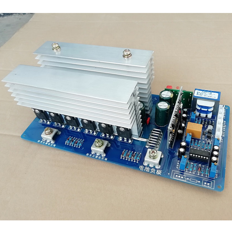 12V 24V 36V 48V 60V 1500W <font><b>3000W</b></font> 4000W high power power frequency pure sine wave <font><b>inverter</b></font> motherboard PCB circuit <font><b>board</b></font> image