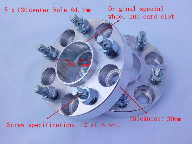 A pair of (2), 5 x130 mm, hole is 84.1 mm, wheel adapters, spacers, suitable for Mercedes G series W460,W461,W463 (1990-2013), 2 a pair of 6 x 5 5 139 7 mm the hole is 108 mm the wheel adapters spacers suitable for toyota rand cool luze 80 series