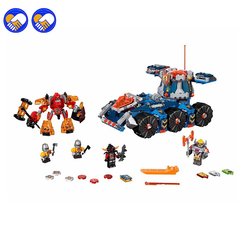 A toy A dream Bela 10520 General Magmars Siege Machine of Doom building Blocks Bricks Toys for children Game Car Legoingly