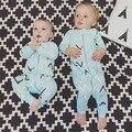 SR116 Regalo de Navidad Mamelucos Del Bebé de Manga Larga Pijamas de algodón Recién Nacido Bebé Mono Recién Nacido Ropa de Bebé 2016 niño en general