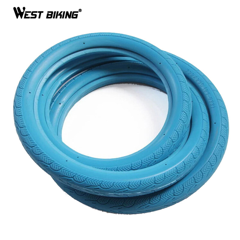 1 Pcs Never Flat Bicycle Tires 700C x 23C Fixed Gear Solid Tires Inflation Free Solid Tyre for Road Bike 11 Colors Bicycle Tires