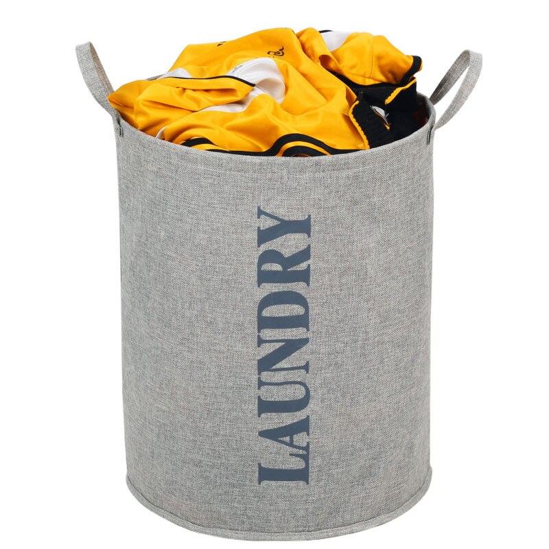 Large Capacity Hano Thickening Oxford Fabric Aluminum Alloy Portable Laundry Basket Large Pocket Storage Bag