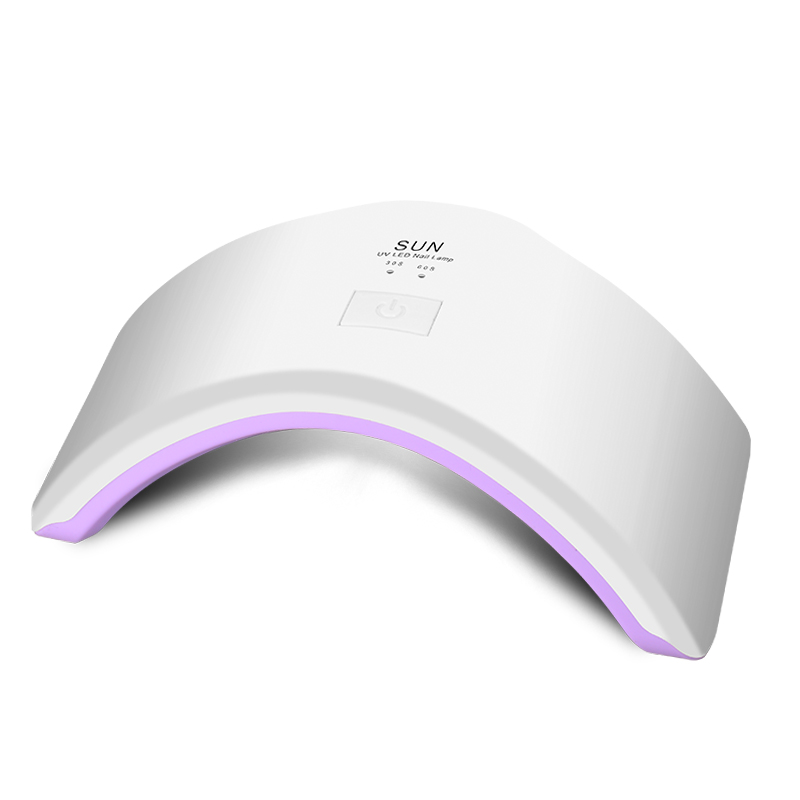 Free Shipping SUN Light 24W UV Lamp Nail Dryer UV LED Lamp for Nails Gel Dryer Nail Lamp Curing for UV Gel Polish Nail Art Tools