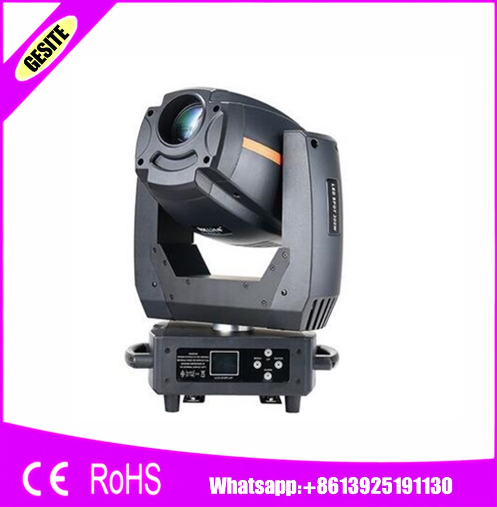 Independent 4pcs/lot 300w Spot Moving Head With Gobo Wheel Led Spot Stage Dj Light Dmx Gobo Projector 300w Moving Head Lyre Spot Led Stage Lighting Effect