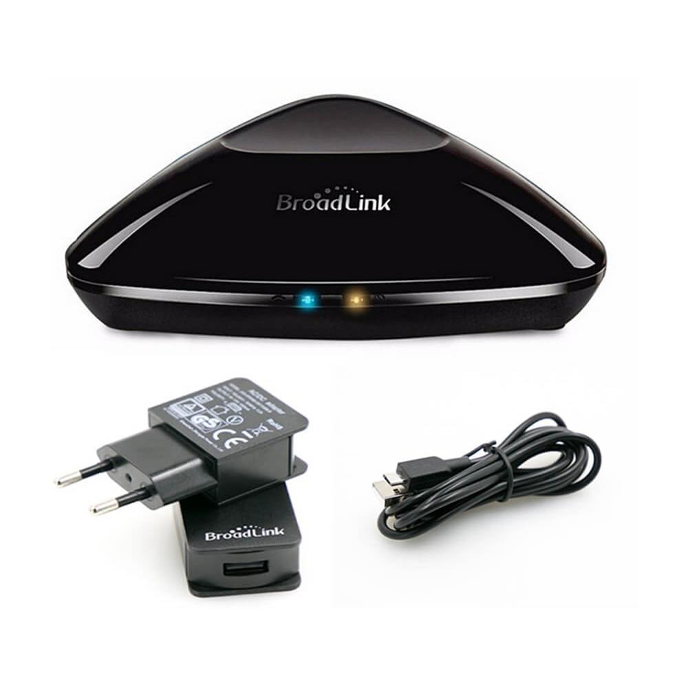 Module Intelligent de domotique de télécommande intelligente universelle de Broadlink RM PRO WiFi + IR + RFSwitch pour le téléphone d'android d'ios