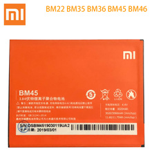 BM22 BM35 BM36 BM45 BM46 Battery For Xiaomi Mi4C Mi5S Mi 5 4C 5S Mi5 Redmi Note 2 3 Pro Replacement Batterie Free Tools