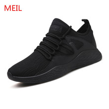 Platform Shoes men loafers 2018 spring Summer Men Casual Shoes Fashion comfortable breathable walking sneakers canvas shoes