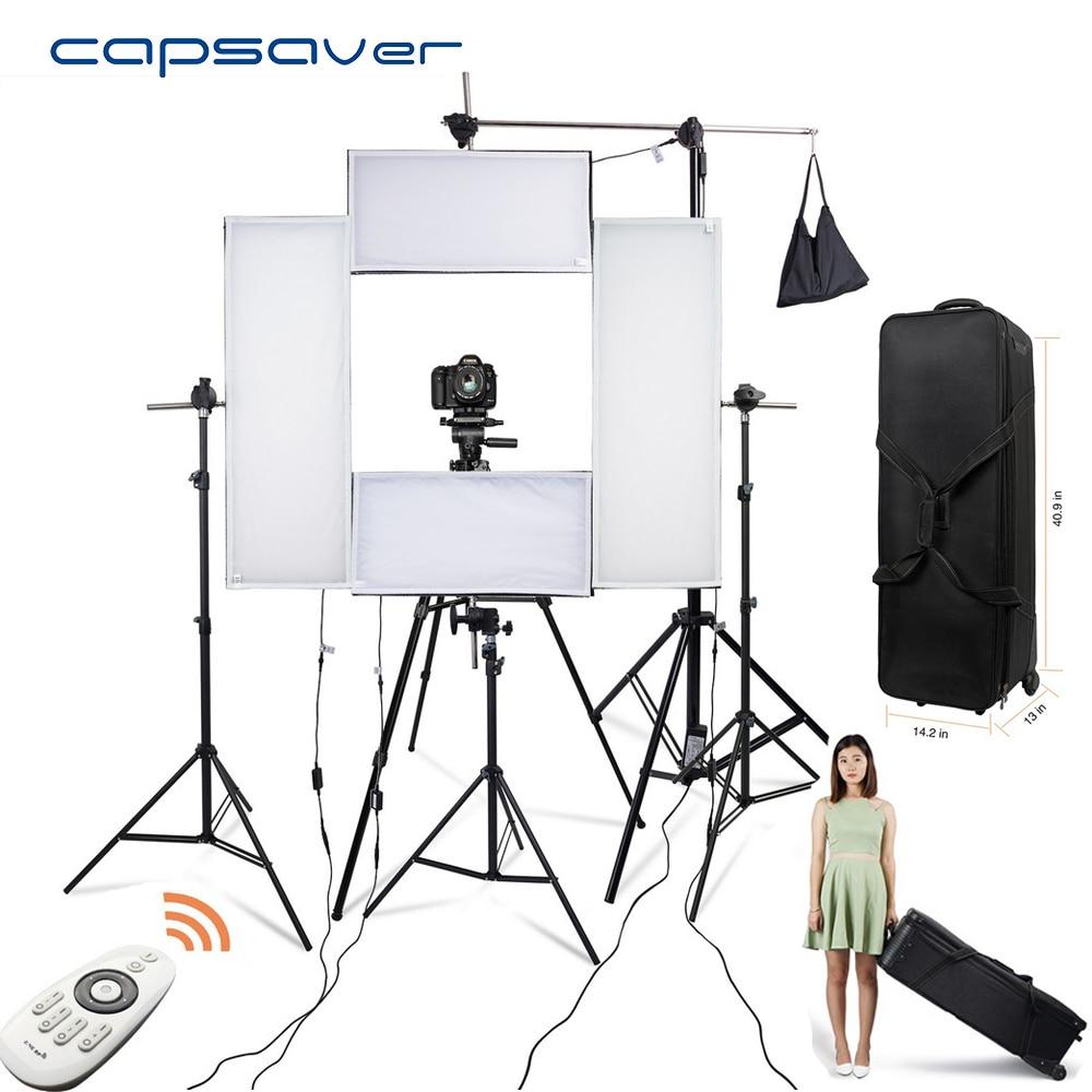 capsaver 4 in 1 Kit de iluminat Headshot LED Iluminare fotografică - Camera și fotografia - Fotografie 1