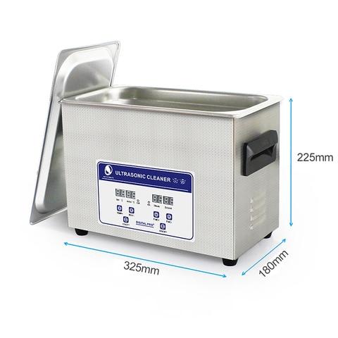 SKYMEN Ultrasonic Cleaner Bath 4.5L 180W 40kHz For Pen-heads, Printer heads, Inkjet Cartridges and Seals,Coins ,Auto parts Karachi