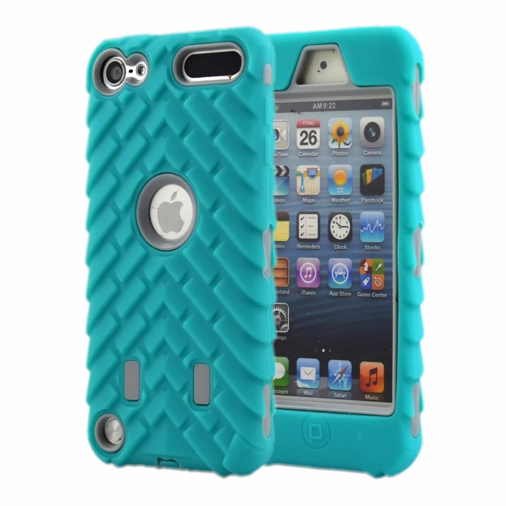 Armor Shock Proof Heavy Duty Case Impact Cover Film For ipod Touch 6 5 5th Gen