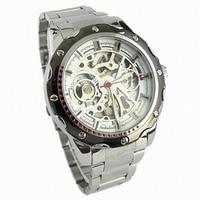 Top Brand Relogio Masculino Quartz Watch Men Pierced Stainless Steel Waterproof Automatic Mechanical Watch Clock Male