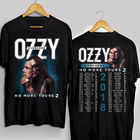 Ozzy Osbourne Shirt Black Sabbath 2018 No More Tours 2 t shirt men casual gift tee USA size S-3XL