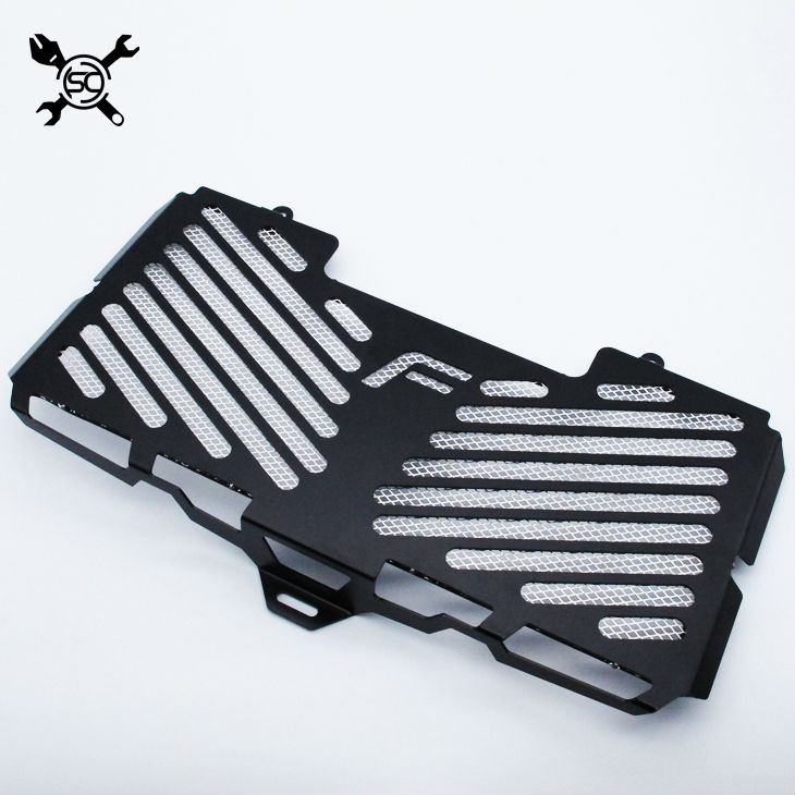 Motorcycle Matte Black Girlle Radiator Guard Cover Protector Fits For BMW F800R 2009 - 2016 2010 2011 2012 2013 2014 2015 F800 R for bmw f800r 2016 2015 2014 2013 2012 2011 2010 2009 radiator guard protector grille grill cover bike motorcycle accessories