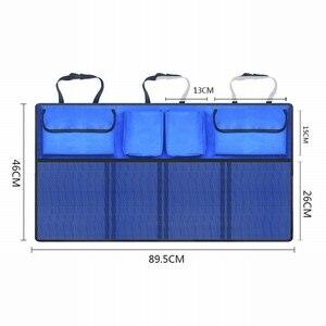 Image 5 - Car Storage Bag Car Seat Back Bag Trunk Storage Bag Large Capacity Creative Car Accessories