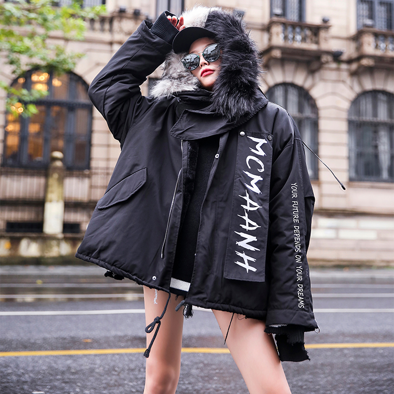 Winter Women Jacket Luxurious Natural Fox Fur Hooded Coat Female   Parkas   2019 New Arrival Harajuku Style Womens Fleece Jacket