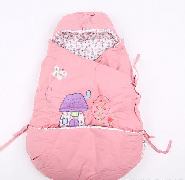 Red Car Sleeping Bag Cotton Baby Autumn and Winter Thickening Supplies LD1124043