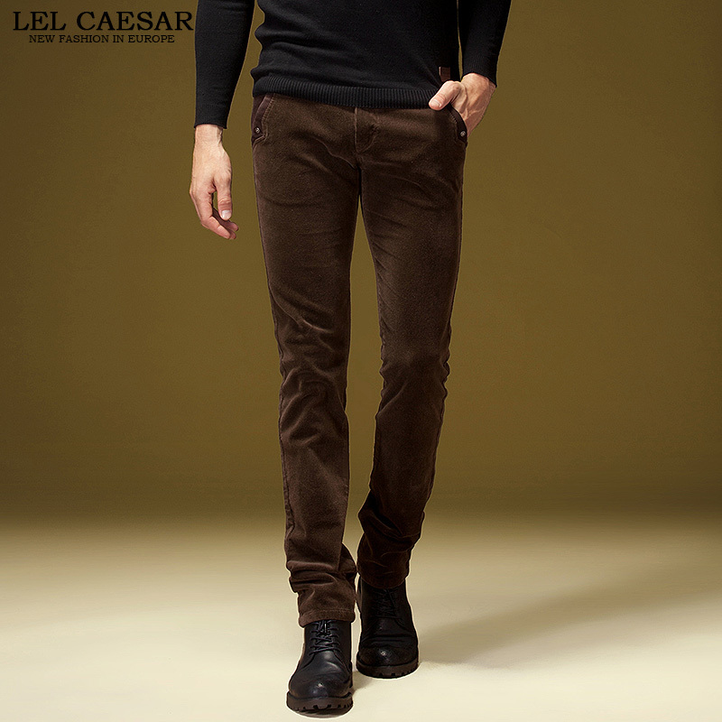 Aliexpress.com : Buy Men Corduroy Pants 2015 New Designer Brand ...